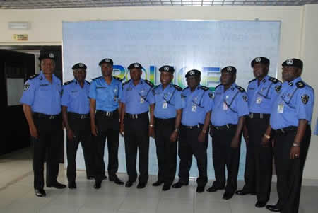 Newly decorated Commissioners of Police